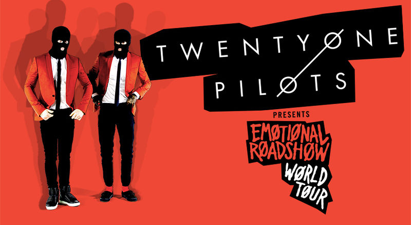 Image result for twenty one pilots emotional roadshow