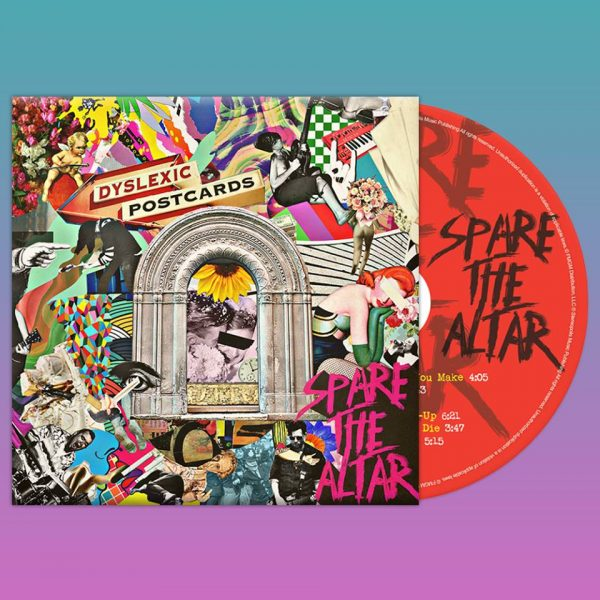 """EP Review: DYSLEXIC POSTCARDS – """"Spare theAltar"""""""