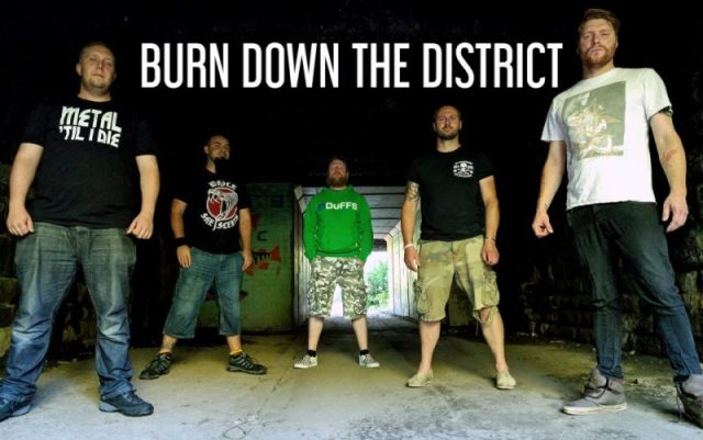 Burn Down the District band pic