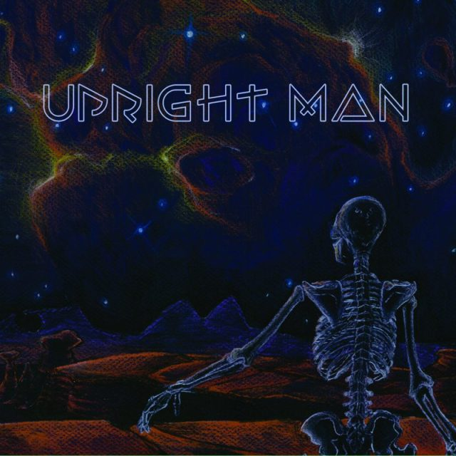 Upright Man Cover blue