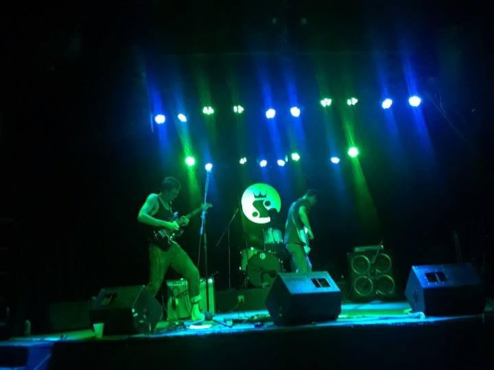 Watergod performing