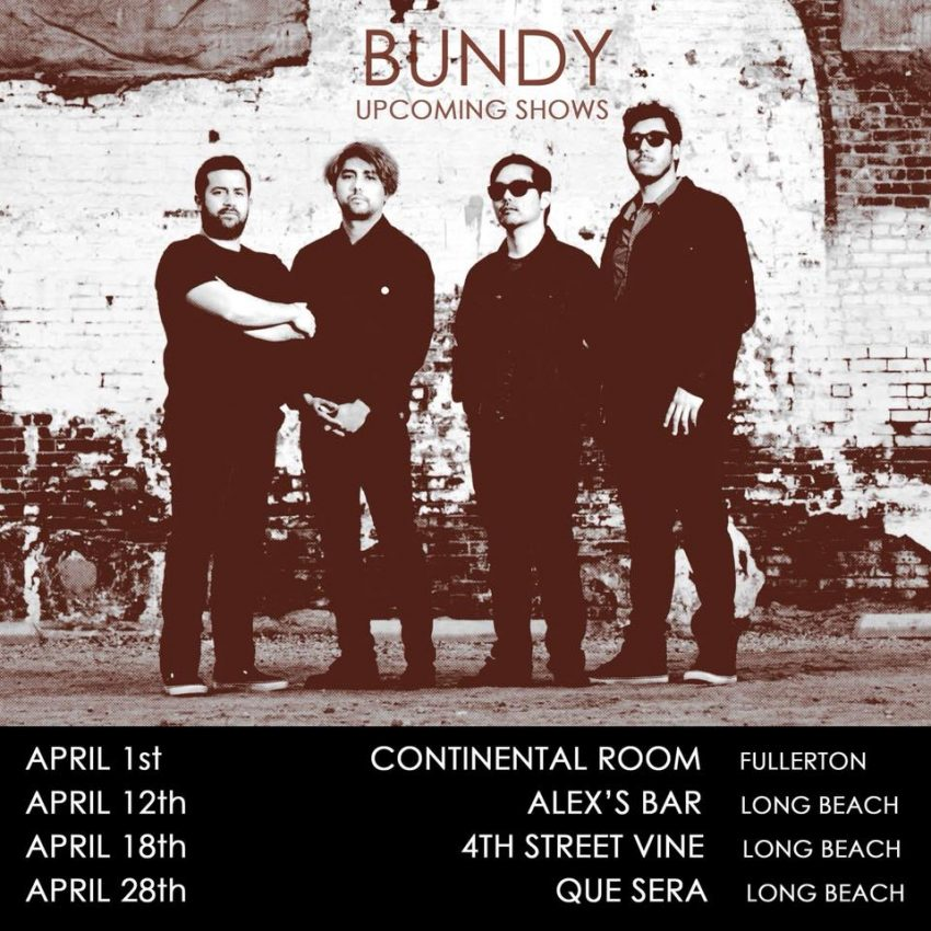 Bundy upcoming shows