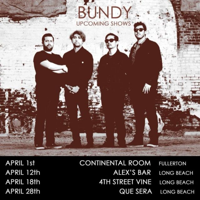 Bundy upcoming shows