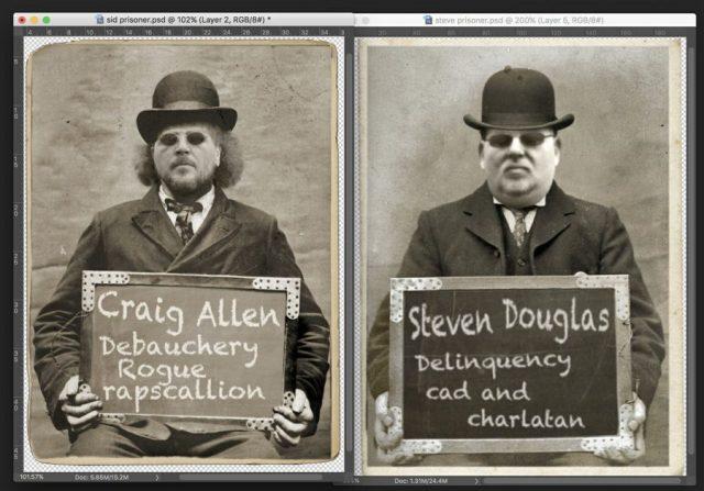 Allen & Douglas funny pic