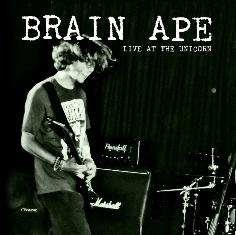 Brain Ape Live at The Unicorn [Front Cover]