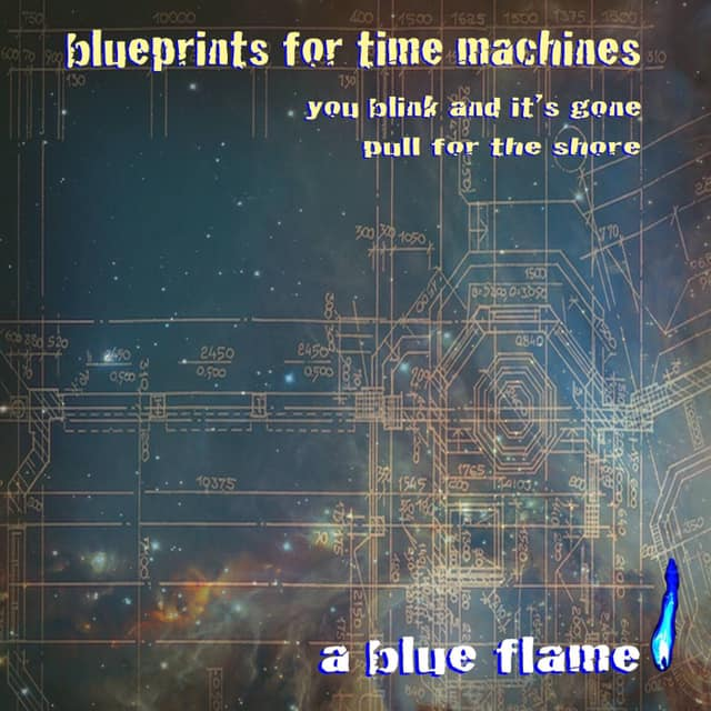 A Blue Flame EP art