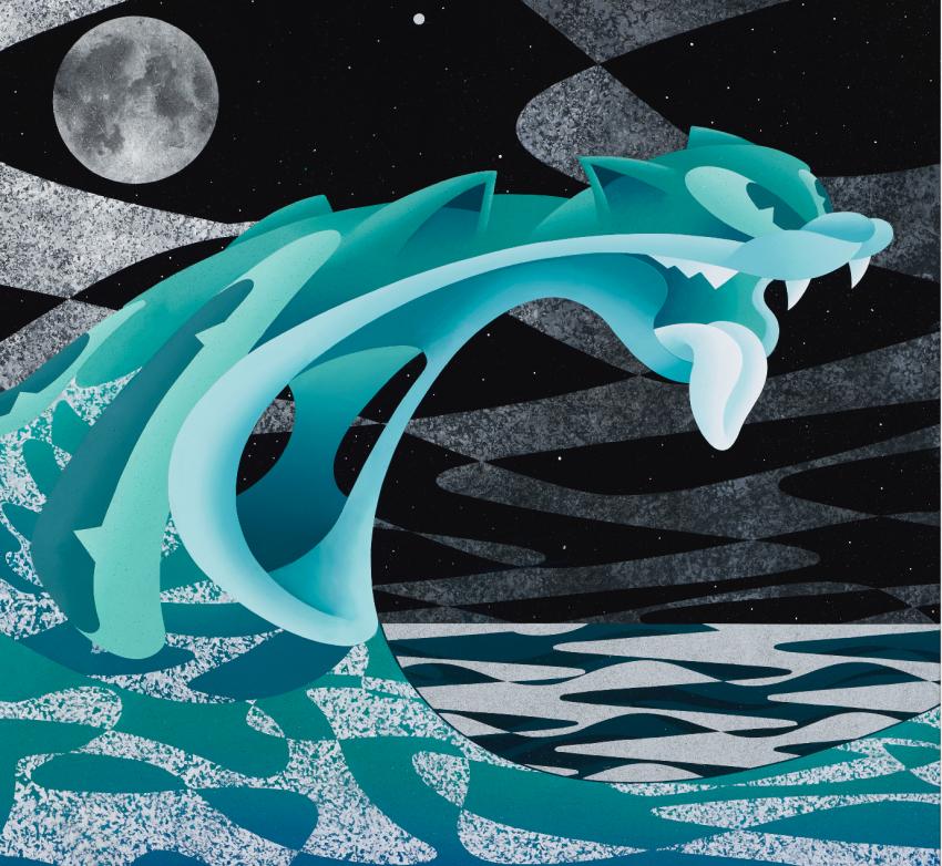 Whale House Clowder art