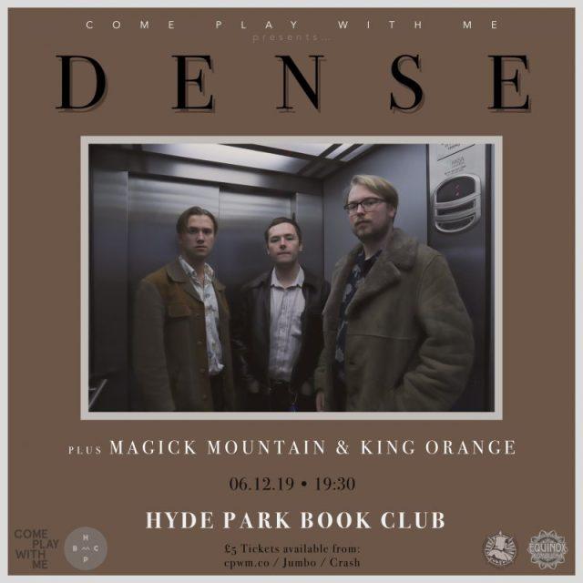 DENSE show poster